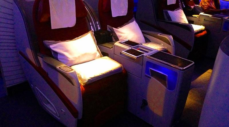 นั่งสบาย : รีวิวสายการบิน กาตาร์(Qatar Airways)