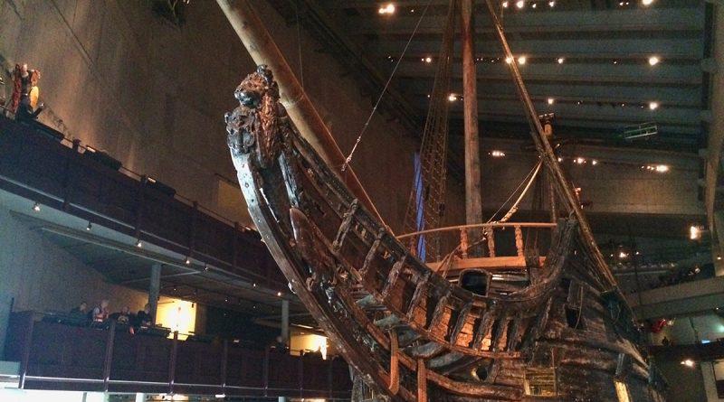 เรือรบไวกิ้ง ที่จมอยู่ใต้ท้องทะเลกว่า 333 ปี จึงนำขึ้นมาไว้ที่ พิพิธภัณฑ์วาซา (Vasa Museum) (7)