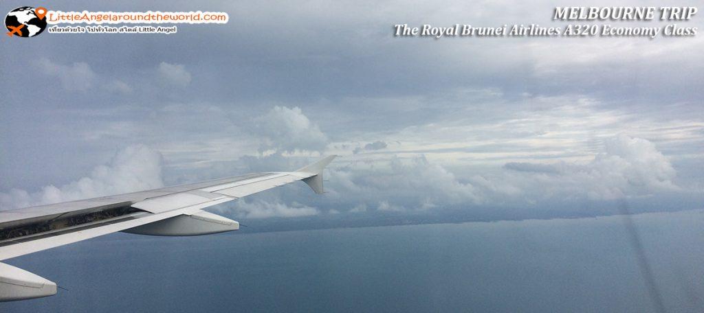 ท้องฟ้ายามบ่าย ช่างสดใส: รีวิวสายการบิน royal brunei ไป เมลเบิร์น