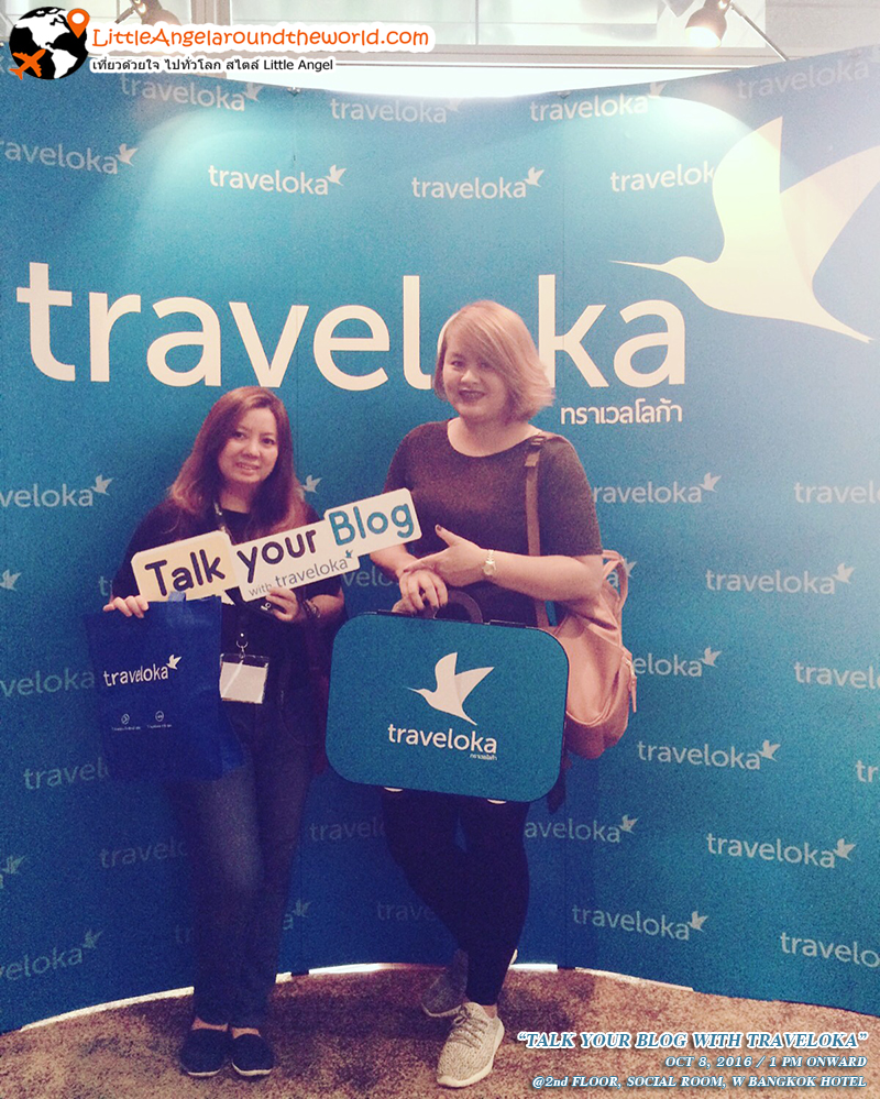บรรยากาศหน้างาน TALK YOUR BLOG WITH TRAVELOKA