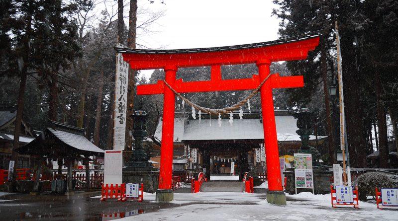 Kushihiki Hachimangu Shrine เมืองฮะชิโนะเฮะ จังหวัดอาโอโมริ : รีวิวที่เที่ยวอาโอโมริ