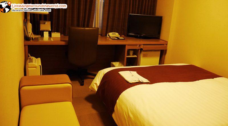 ห้องพักแสนสบายของโรงแรม Daiwa Roynet Hotel Hachinohe : โรงแรมในฮะชิโนเฮะ(Hachinohe)