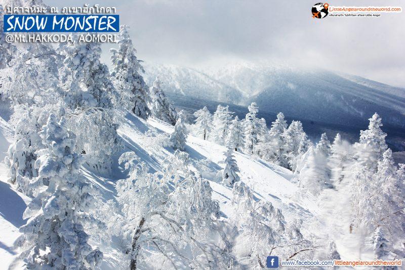 นี่ภูเขาปิศาจหิมะหรือสวรรค์ สวยเกินบรรยาย วิวจาก Ropeway ที่ Mt.Hakkoda : Snow Monsters at Mt.Hakkoda