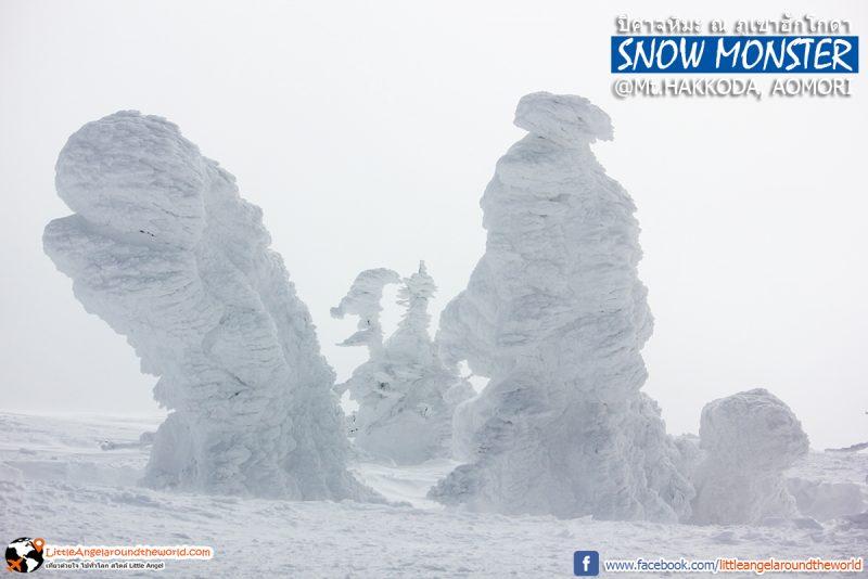 ประจันหน้ากับปิศาจหิมะ หรือ Snow Monster ความสวยที่ธรรมชาติสร้าง ที่ Mt.Hakkoda : Snow Monsters at Mt.Hakkoda