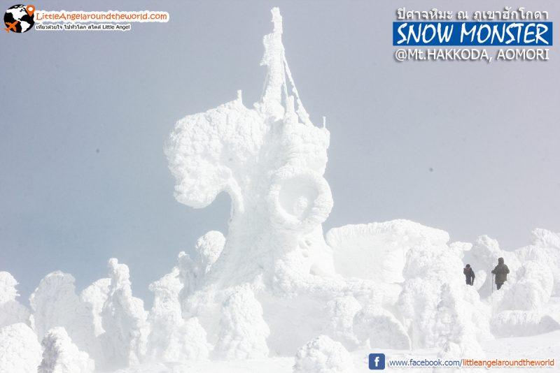 ปิศาจหิมะใหญ่ยักษ์ หรือ Snow Monster ความสวยที่ธรรมชาติสร้าง ที่ Mt.Hakkoda : Snow Monsters at Mt.Hakkoda