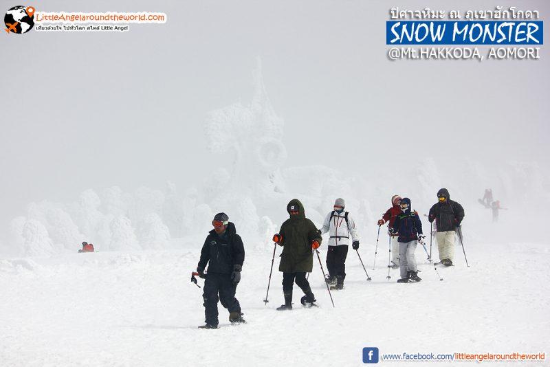 Mt.Hakkoda อีกหนึ่งสถานที่ที่นิยมมาเล่นสกี : Snow Monsters at Mt.Hakkoda