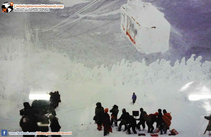 Mt.Hakkoda ในอดีต : Snow Monsters at Mt.Hakkoda