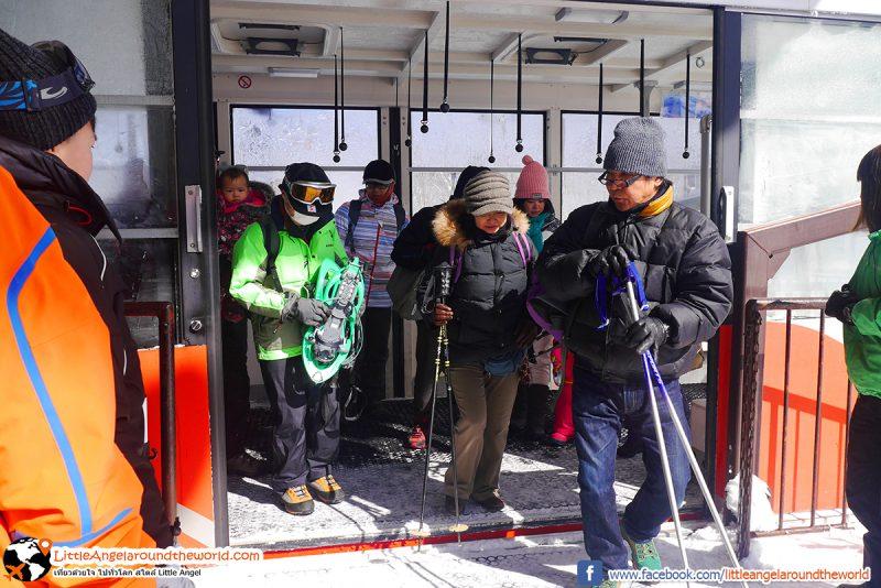 Ropeway ที่ Mt.Hakkoda ได้รับความนิยมมาก นักท่องเที่ยวมาเที่ยวกันเยอะ : Snow Monsters at Mt.Hakkoda