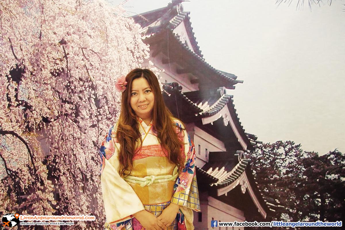 แปลงร่างเป็นสาวญี่ปุ่นแป้บนะคะ : เที่ยวอาโอโมริ ซากุระกว่า 2,600 ต้น ที่ปราสาทฮิโรซากิ (Hirosaki Castle)
