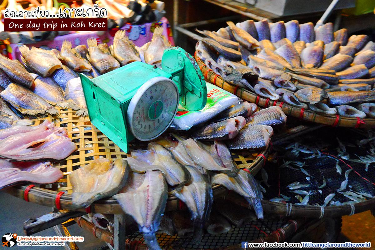 ปลาแดดเดียว : เที่ยวเกาะเกร็ด (One day trip in Koh Kret)