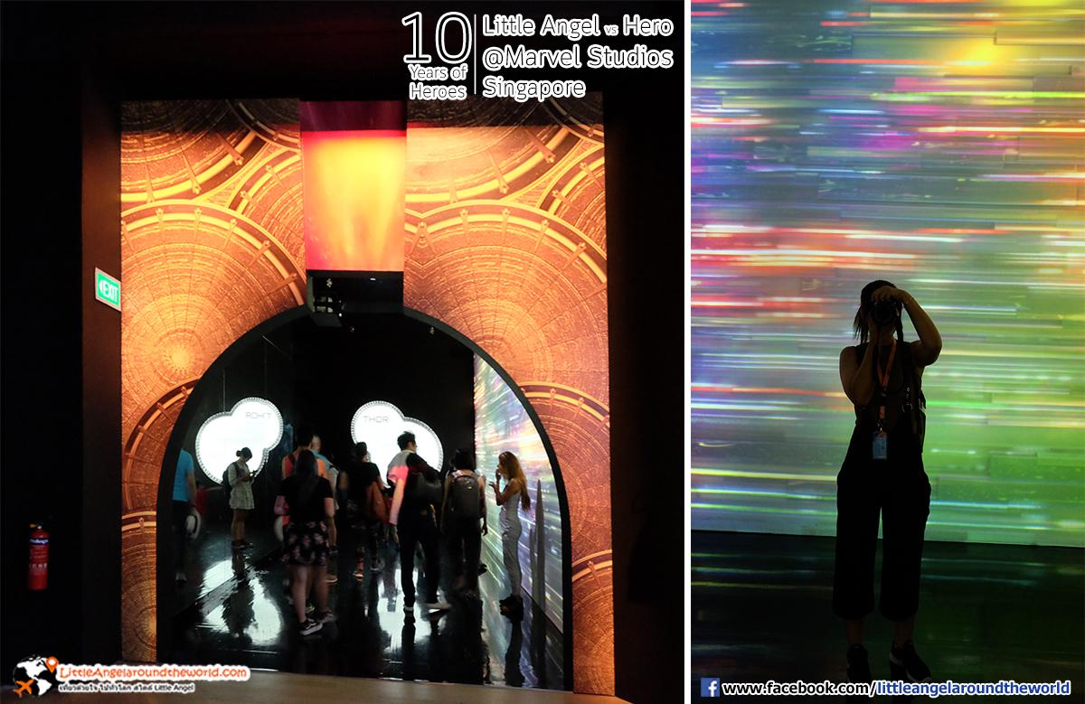 ไบฟอร์ด - สะพานเดินทางไปสู่ แอสการ์ด : Reviews Marvel Studios, Singapore @ArtScience Museum : Ten Years of Heroes