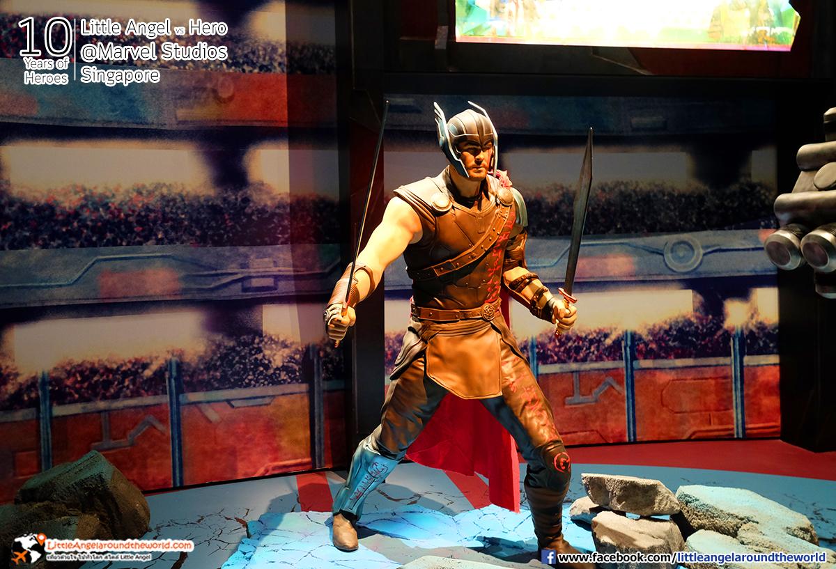 THOR : Reviews Marvel Studios, Singapore @ArtScience Museum : Ten Years of Heroes