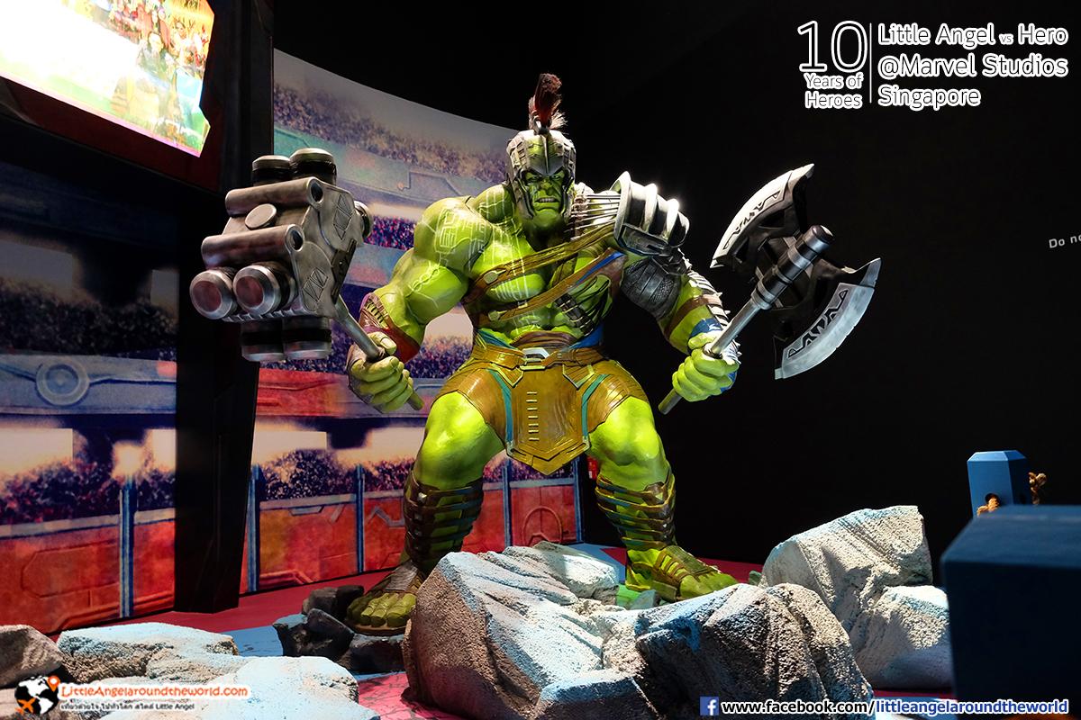 The Hulk : Reviews Marvel Studios, Singapore @ArtScience Museum : Ten Years of Heroes