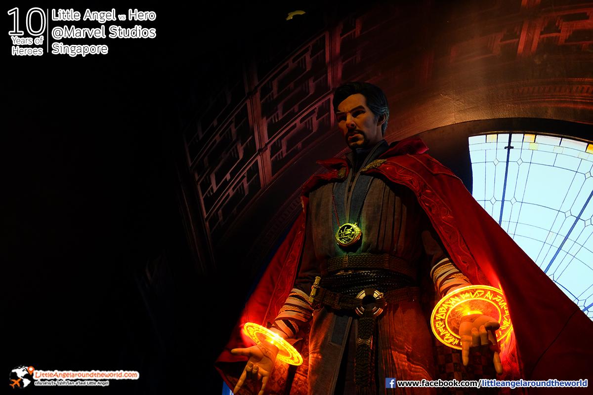 Doctor Strange ส่งพลังอลังการ : Reviews Marvel Studios, Singapore @ArtScience Museum : Ten Years of Heroes