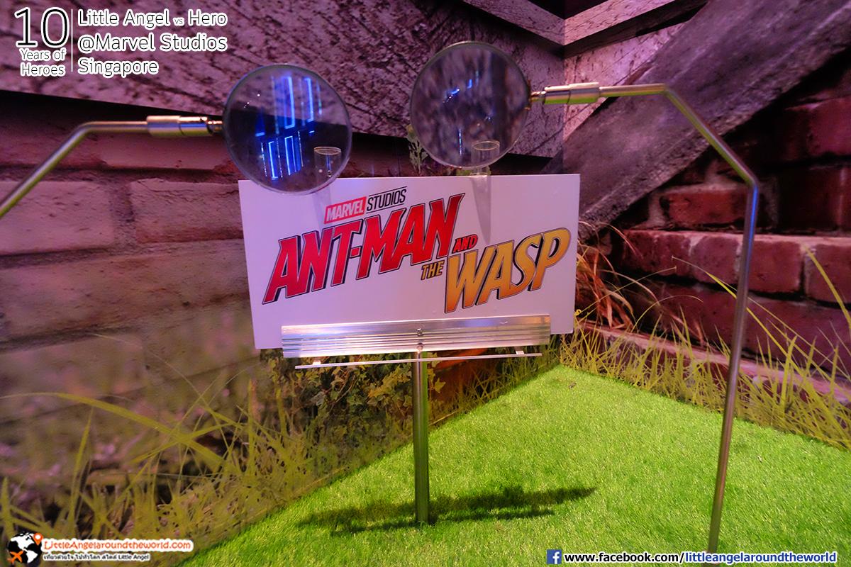 Ant-Man And The Wasp เล็กจนต้องใช้แว่นขยายดู : Reviews Marvel Studios, Singapore @ArtScience Museum : Ten Years of Heroes