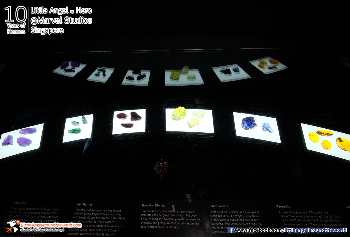 อินฟินิตี้ สโตนส์ทั้ง 6 ดวง ที่ธานอส : Reviews Marvel Studios, Singapore @ArtScience Museum : Ten Years of Heroes