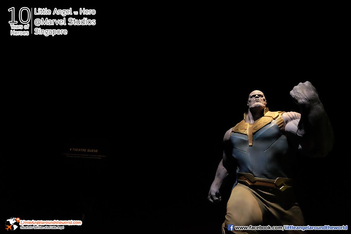ธานอส ใหญ่ยักษ์มหึมา : Reviews Marvel Studios, Singapore @ArtScience Museum : Ten Years of Heroes