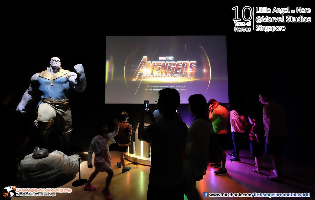 ทั้งอิน ทั้งฟินกันทุกโซน : Reviews Marvel Studios, Singapore @ArtScience Museum : Ten Years of Heroes