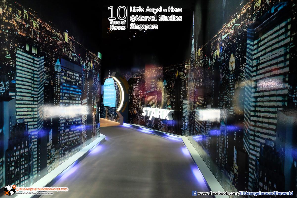 STARK Zone : Reviews Marvel Studios, Singapore @ArtScience Museum : Ten Years of Heroes